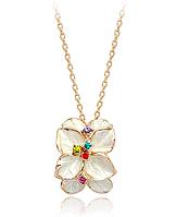 Весенний цветок ожерелье с австрийским качеством Swarovski Crystal