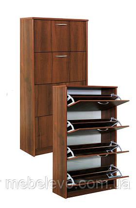 Тумба для обуви  600 4Д 1660х600х268мм    Мебель-Сервис, фото 2