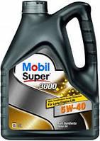 Моторное масло Mobil Super 3000 5W-40, кан 4л