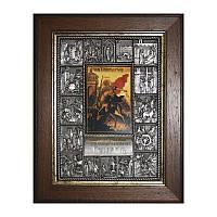 Икона Житие Георгия Победоносца на подарок
