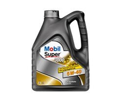 Моторное масло Mobil Super 3000 5W-40, кан 4л, фото 3