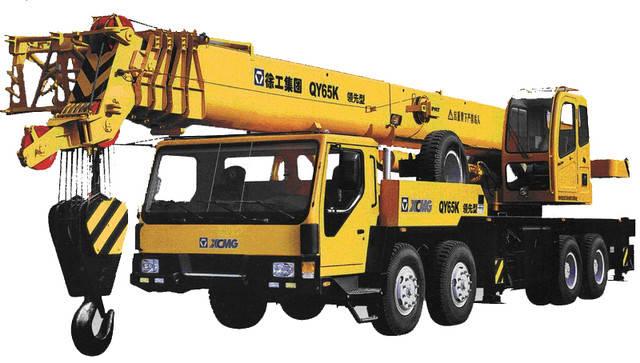 Автокран XCMG-QY65K, фото 2