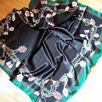 Платок Gucci черный, фото 1