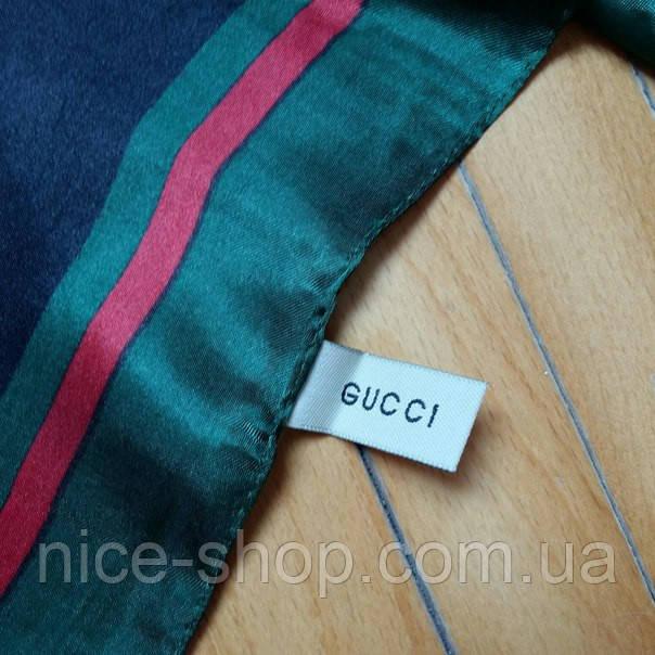 Платок Gucci черный, фото 2