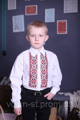Рубашка вышитая для мальчика