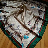 Платок Gucci кремовый, фото 1