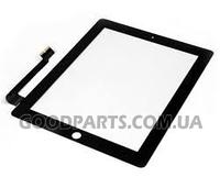 Сенсорный экран (тачскрин) для iPad 3, 4 черный high copy
