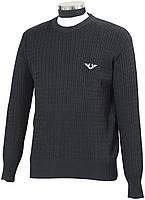 Классический мужской свитер для конного спорта