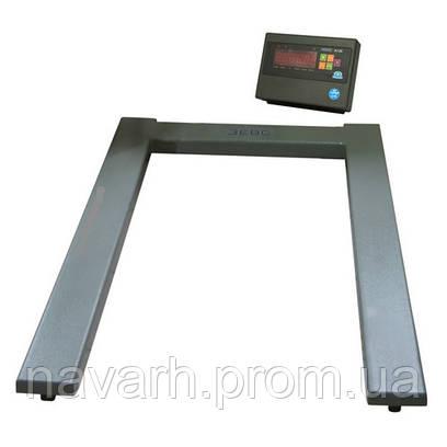 Весы паллетные ВПЕ 1200х800-0,5т.