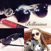 Женские стильные солнцезащитные очки с яркой оправой s-431680
