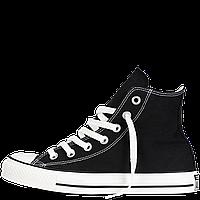 Кеды Converse All Star черные высокие 41-44 Реплика, фото 1