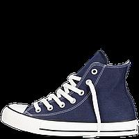 Кеды Converse All Star синие высокие 35-40 Реплика