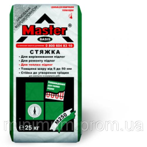 Master Basis стяжка цементная 5-40 мм