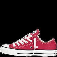Кеды Converse All Star бордо низкие  Реплика