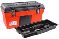 "Ящик для инструмента с металлическими замками 19""  Intertool  BX-1119"