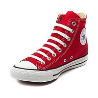 Кеды Converse All Star красные высокие  Реплика