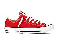 Кеды Converse All Star красные низкие Реплика