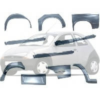 Арки, пороги, крылья, капот Ford KA Форд КА 1996-2008