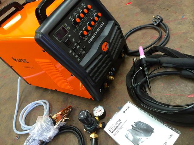 Оборудование и материалы для аргонодуговой сварки (TIG)
