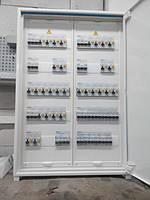 """щит управлениия освещением ( собран для БЦ """"Гулливер"""", корпус - Hager, автоматические выключатели и дифатвоматы - Eaton)"""