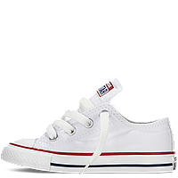 Кеды Converse All Star  детские белые низкие
