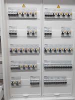 щит ЩОА (сборка щитов освещения) а так же силовых щитов, распределительных и шкафов автоматики и управления