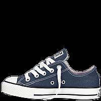 Кеды Converse All Star  детские синие низкие Реплика, фото 1