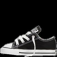 Кеды Converse All Star  детские черные низкие Реплика, фото 1