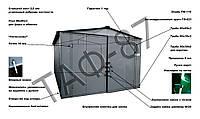 Гараж металлический цельносварной из металла 1,2 мм, фото 1