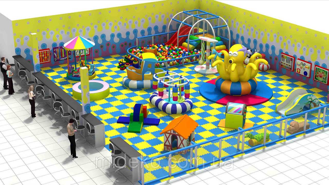 Игровая комната «Подводный мир»