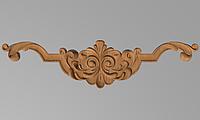 Код ДГ 34.Деревянный резной декор для мебели. Декор горизонтальный, фото 1
