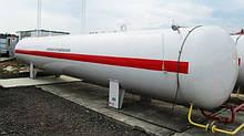 Ємності, резервуари для зберігання зріджених газів наземного і підземного виконання ЗВГ пропан бутан