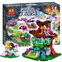 Конструктор Fairy Эльфы Домик дерево с кристаллами 10409