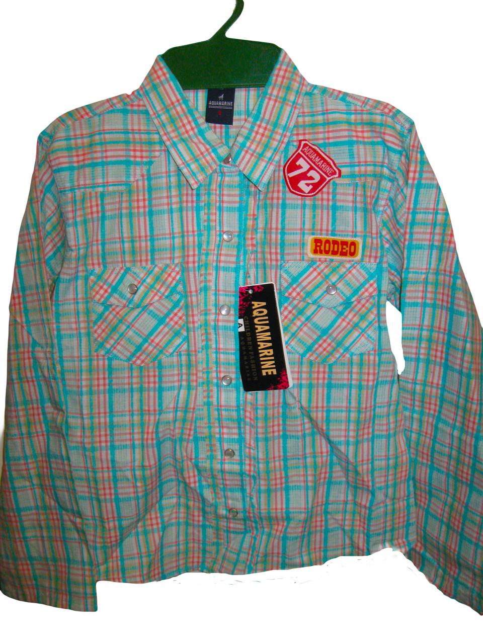 Рубашка для девочек, размеры 4.8 лет  арт. С 018