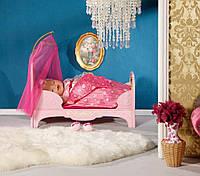 Кроватка для кукол Zapf Creation Интерактивная кроватка для пупса Baby Born Сладкие сны принцессы (819562)
