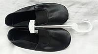 Детские кожаные Чешки (черные)