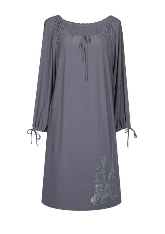 Платье прямого кроя Париж