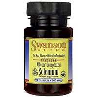 Селен комплексный Albion®, 200 мкг 90 капсул, Swanson