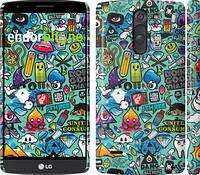 "Чехол на LG G3 Stylus D690 Стикер бомбинг 1 ""693c-89"""