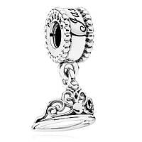 Подвеска Дисней тиара жасмин  из серебра 925 пробы пандора