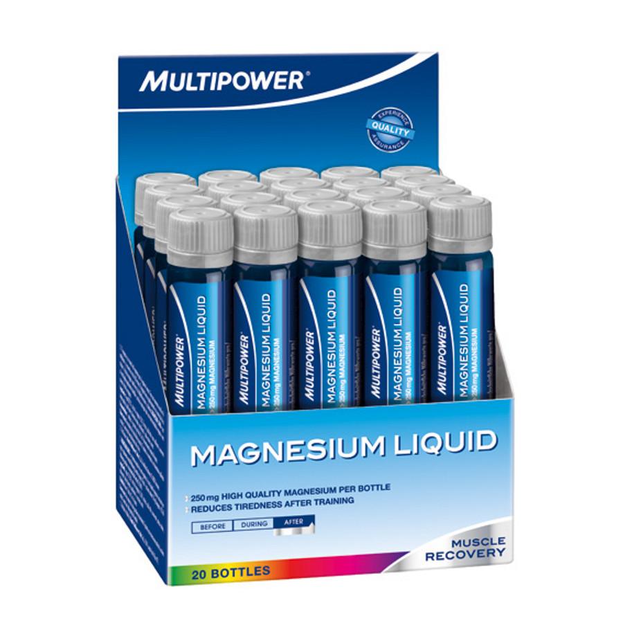 Минеральные комплексы Multipower Magnesium liquid 20 амп