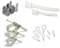 Кабельный крепеж, арматура СИП, изделия для электромонтажа