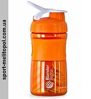 BlenderBottle SportMixer 590 мл - Оранжевый