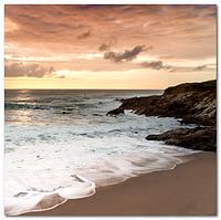 Скинали Вид на море - стекло с фотопечатью