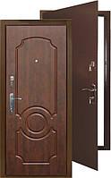 Двери  Титан-Люкс  (Медь+МДФ мат.) 960 на 2050 мм