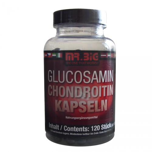 ДЛЯ СУСТАВОВ И СВЯЗОК Mr Big  Glucosamin Chondroitin 120 caps