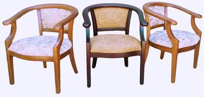 Стулья и деревянные кресла