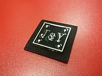 Герб пришивной №013041 черный