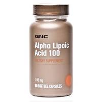 Антиоксиданты GNC Alpha-Lipoic Acid 100 mg 60 softgels