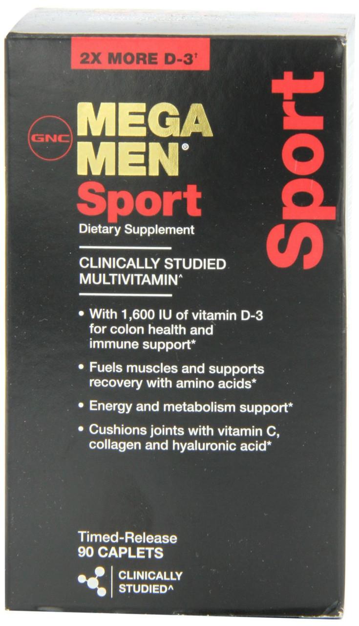 Витамины для Мужчин GNC Mega Men Sport  90 caps